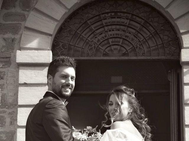 Il matrimonio di Emanuele e Francersca a Gubbio, Perugia 43