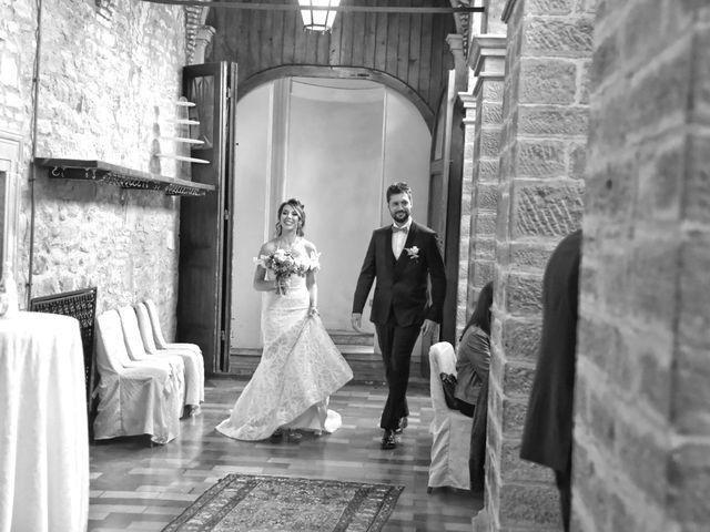 Il matrimonio di Emanuele e Francersca a Gubbio, Perugia 51
