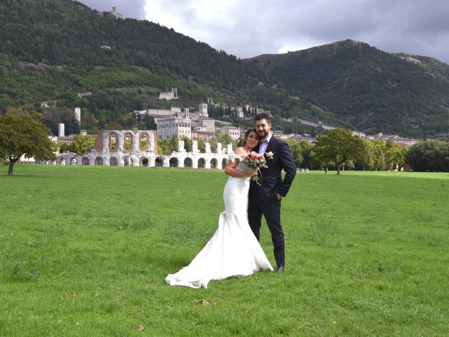Il matrimonio di Emanuele e Francersca a Gubbio, Perugia 52