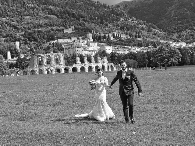 Il matrimonio di Emanuele e Francersca a Gubbio, Perugia 53