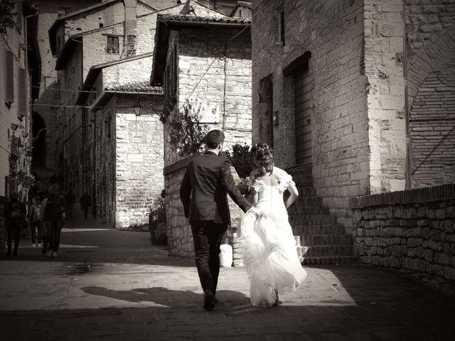 Il matrimonio di Emanuele e Francersca a Gubbio, Perugia 54