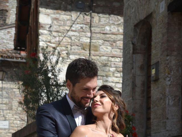 Il matrimonio di Emanuele e Francersca a Gubbio, Perugia 55