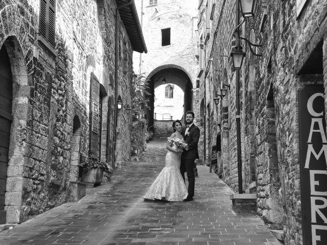 Il matrimonio di Emanuele e Francersca a Gubbio, Perugia 56