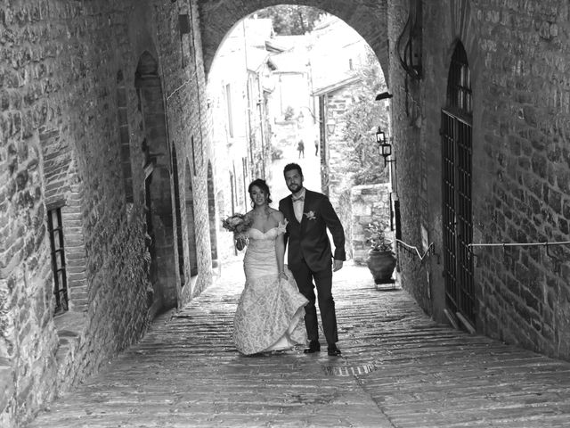 Il matrimonio di Emanuele e Francersca a Gubbio, Perugia 57