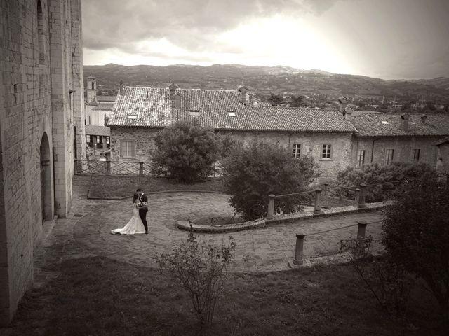 Il matrimonio di Emanuele e Francersca a Gubbio, Perugia 58