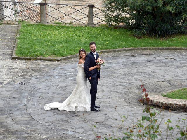 Il matrimonio di Emanuele e Francersca a Gubbio, Perugia 59