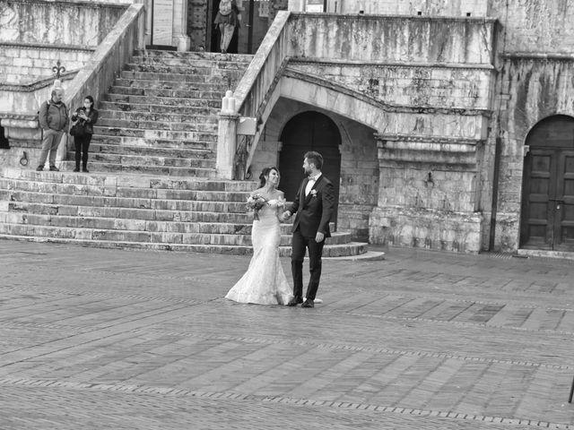 Il matrimonio di Emanuele e Francersca a Gubbio, Perugia 60