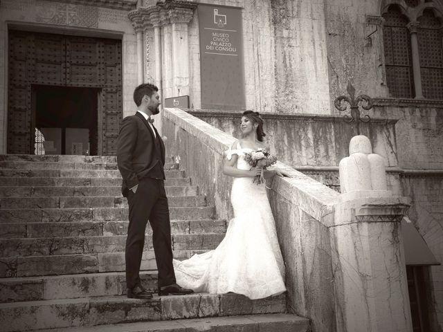 Il matrimonio di Emanuele e Francersca a Gubbio, Perugia 64