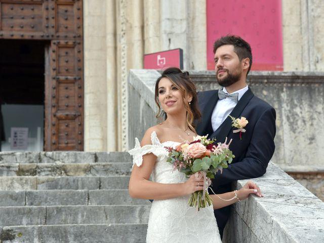 Il matrimonio di Emanuele e Francersca a Gubbio, Perugia 65