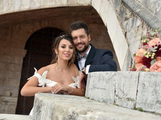 Il matrimonio di Emanuele e Francersca a Gubbio, Perugia 69