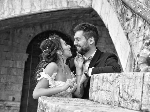 Il matrimonio di Emanuele e Francersca a Gubbio, Perugia 70