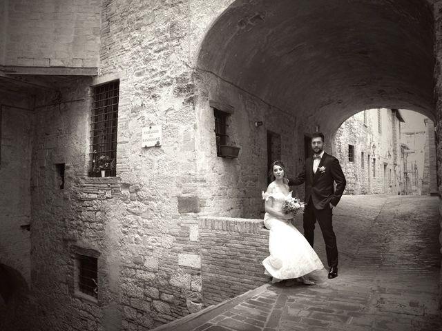 Il matrimonio di Emanuele e Francersca a Gubbio, Perugia 71