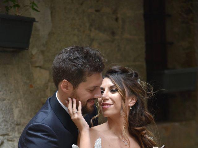 Il matrimonio di Emanuele e Francersca a Gubbio, Perugia 72