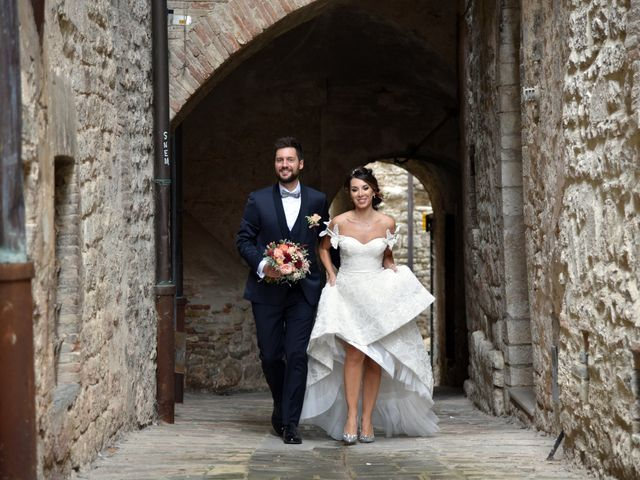Il matrimonio di Emanuele e Francersca a Gubbio, Perugia 73