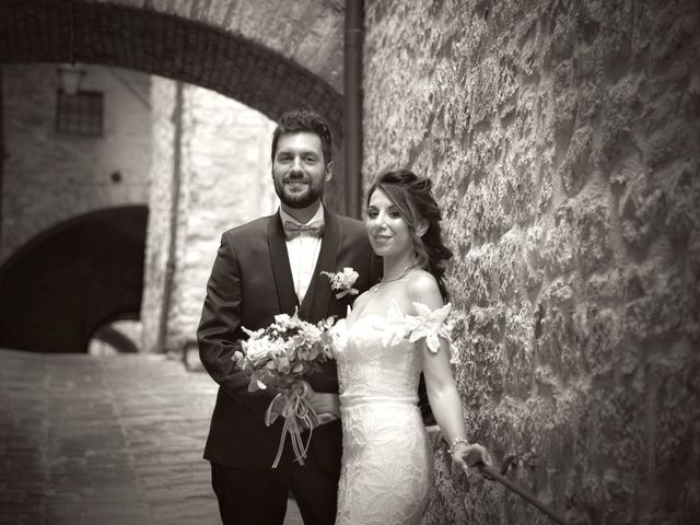 Il matrimonio di Emanuele e Francersca a Gubbio, Perugia 74