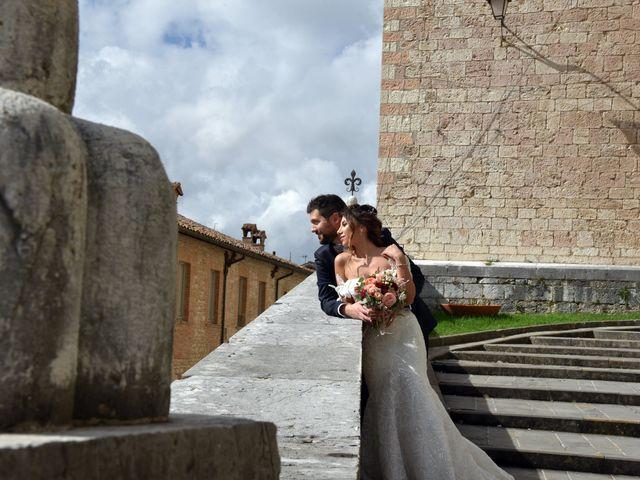 Il matrimonio di Emanuele e Francersca a Gubbio, Perugia 78
