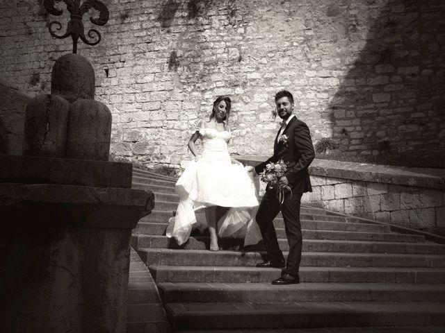 Il matrimonio di Emanuele e Francersca a Gubbio, Perugia 79