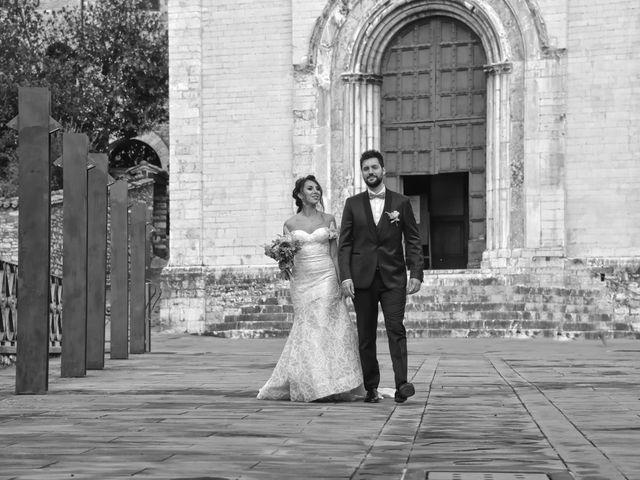 Il matrimonio di Emanuele e Francersca a Gubbio, Perugia 80