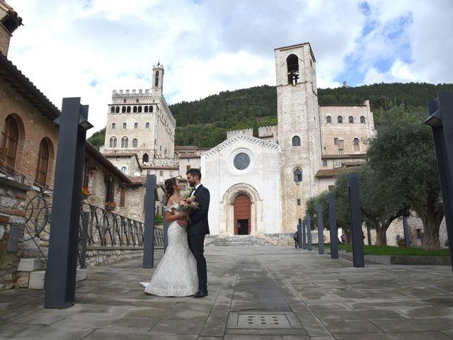 Il matrimonio di Emanuele e Francersca a Gubbio, Perugia 81