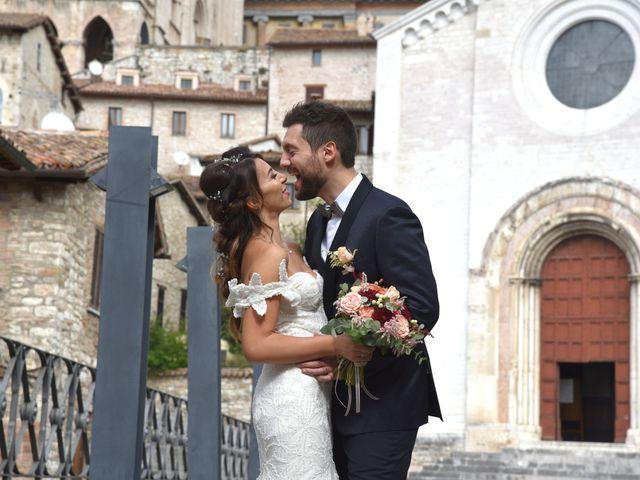 Il matrimonio di Emanuele e Francersca a Gubbio, Perugia 82