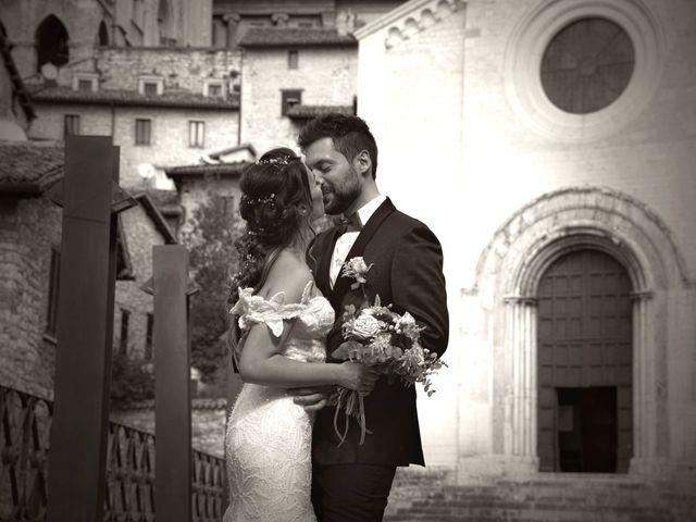 Il matrimonio di Emanuele e Francersca a Gubbio, Perugia 83