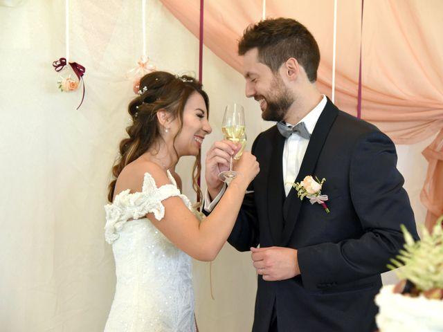 Il matrimonio di Emanuele e Francersca a Gubbio, Perugia 100