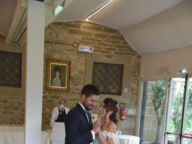 Il matrimonio di Emanuele e Francersca a Gubbio, Perugia 107