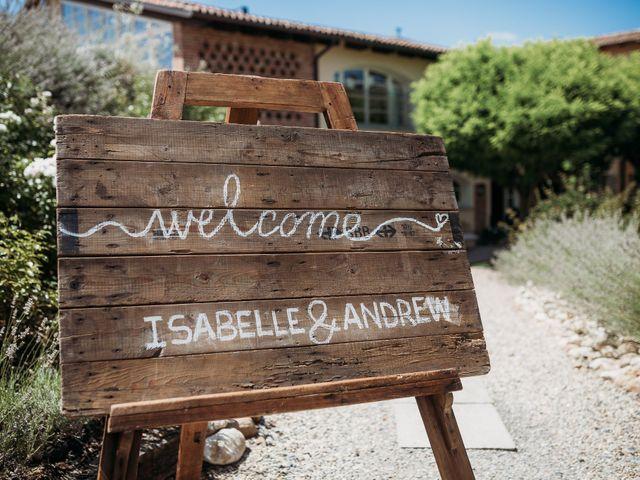 Il matrimonio di Andrew e Isabelle a Mombaruzzo, Asti 3