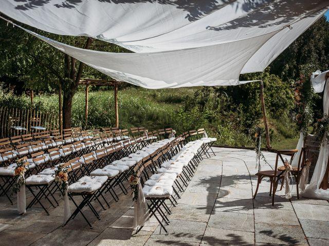 Il matrimonio di Andrew e Isabelle a Mombaruzzo, Asti 47