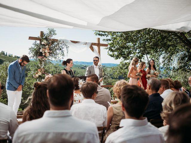 Il matrimonio di Andrew e Isabelle a Mombaruzzo, Asti 56