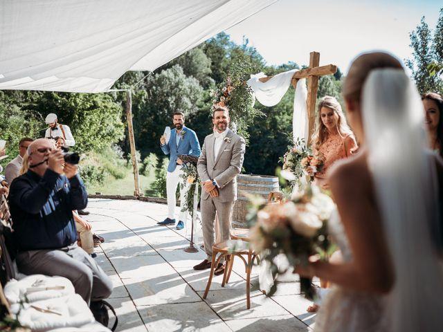 Il matrimonio di Andrew e Isabelle a Mombaruzzo, Asti 59