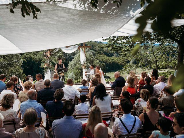 Il matrimonio di Andrew e Isabelle a Mombaruzzo, Asti 65