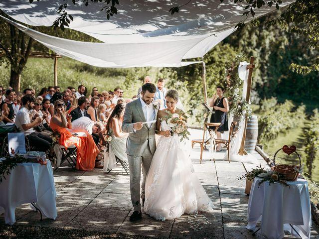 Il matrimonio di Andrew e Isabelle a Mombaruzzo, Asti 1