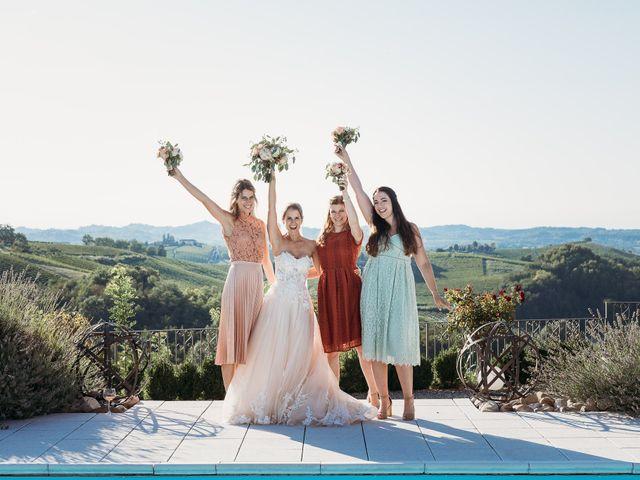 Il matrimonio di Andrew e Isabelle a Mombaruzzo, Asti 87
