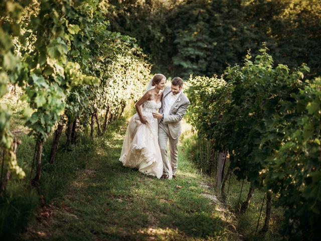 Il matrimonio di Andrew e Isabelle a Mombaruzzo, Asti 99