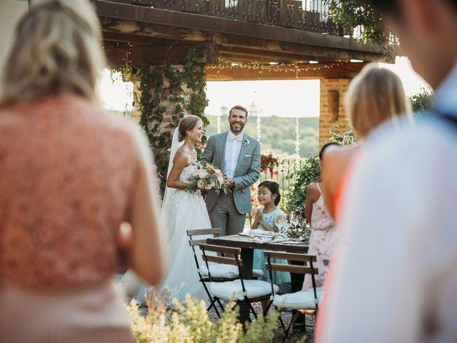 Il matrimonio di Andrew e Isabelle a Mombaruzzo, Asti 107