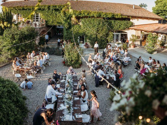 Il matrimonio di Andrew e Isabelle a Mombaruzzo, Asti 111