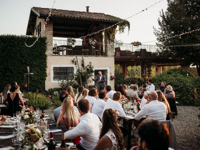 Il matrimonio di Andrew e Isabelle a Mombaruzzo, Asti 118