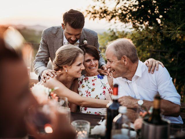 Il matrimonio di Andrew e Isabelle a Mombaruzzo, Asti 119