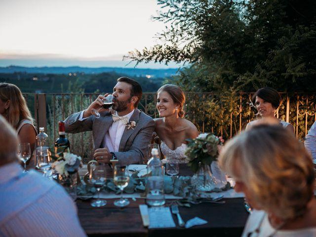 Il matrimonio di Andrew e Isabelle a Mombaruzzo, Asti 122