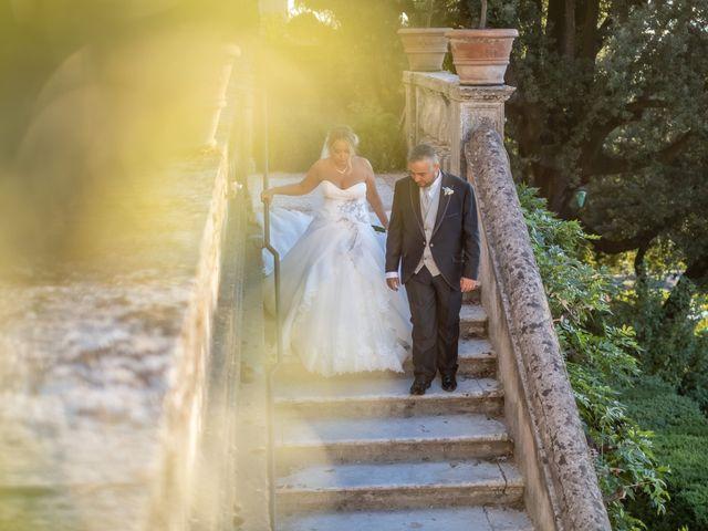 Il matrimonio di Simona e Gianluca a Castel Madama, Roma 2