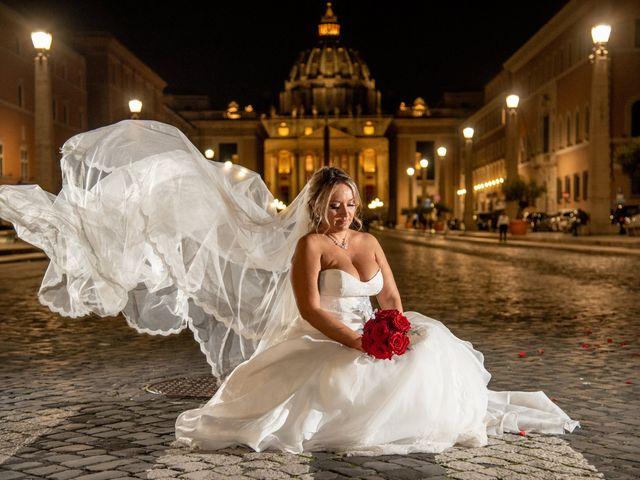 Il matrimonio di Simona e Gianluca a Castel Madama, Roma 9