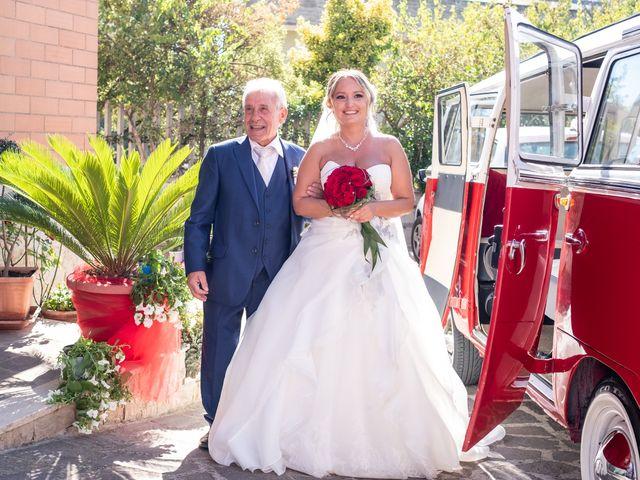 Il matrimonio di Simona e Gianluca a Castel Madama, Roma 11