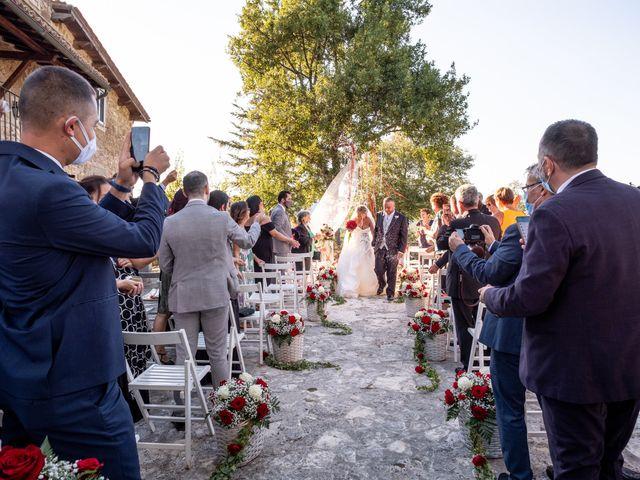 Il matrimonio di Simona e Gianluca a Castel Madama, Roma 12
