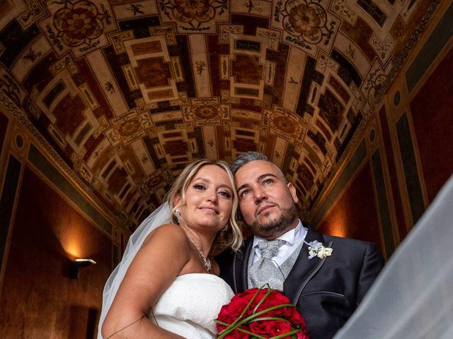 Il matrimonio di Simona e Gianluca a Castel Madama, Roma 13
