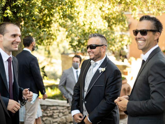Il matrimonio di Simona e Gianluca a Castel Madama, Roma 21