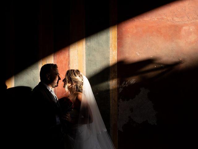 Il matrimonio di Simona e Gianluca a Castel Madama, Roma 25