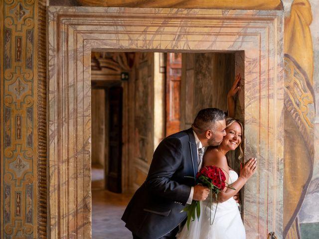 Il matrimonio di Simona e Gianluca a Castel Madama, Roma 26