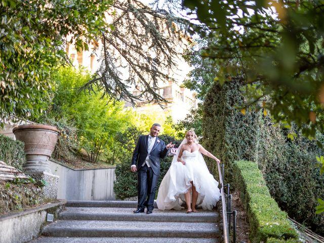 Il matrimonio di Simona e Gianluca a Castel Madama, Roma 28