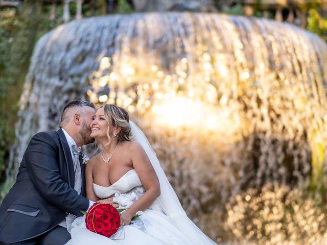 Il matrimonio di Simona e Gianluca a Castel Madama, Roma 29